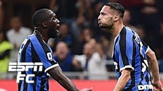 Inter Milan Battle Past Lazio At The San Siro To Remain Perfect | Serie A Highlights