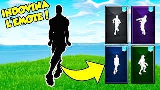 Guess the EMOTE only by sound! Fortnite ENG