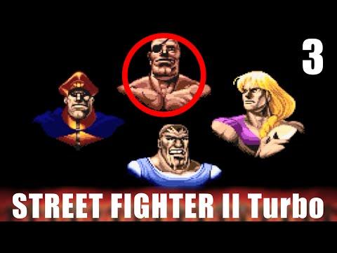 [3/6] STREET FIGHTER II Turbo Longplay ストリートファイターII ターボ(スーパーファミコン)