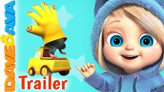 👏Where is Thumbkin? – Trailer | Nursery Rhymes and Baby Songs from Dave and Ava 👏