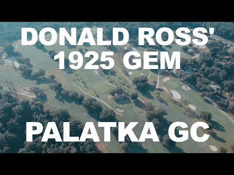 Course Vlog @ Palatka Golf Club (With Vintage Golf Clubs)