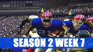 ESPN NFL 2K5 BILLS FRANCHISE - OH WILLIS - VS PITTSBURGH STEELERS