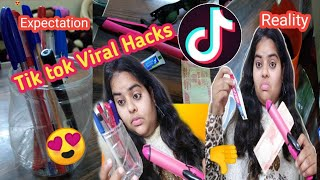 I Tested Viral TikTok Life Hacks**this is what happened** /Tik tok Viral Life Hacks/Testing out
