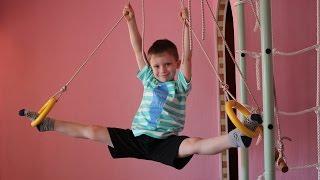 Комплекс упражнений на растяжку для детей.  Домашняя растяжка.