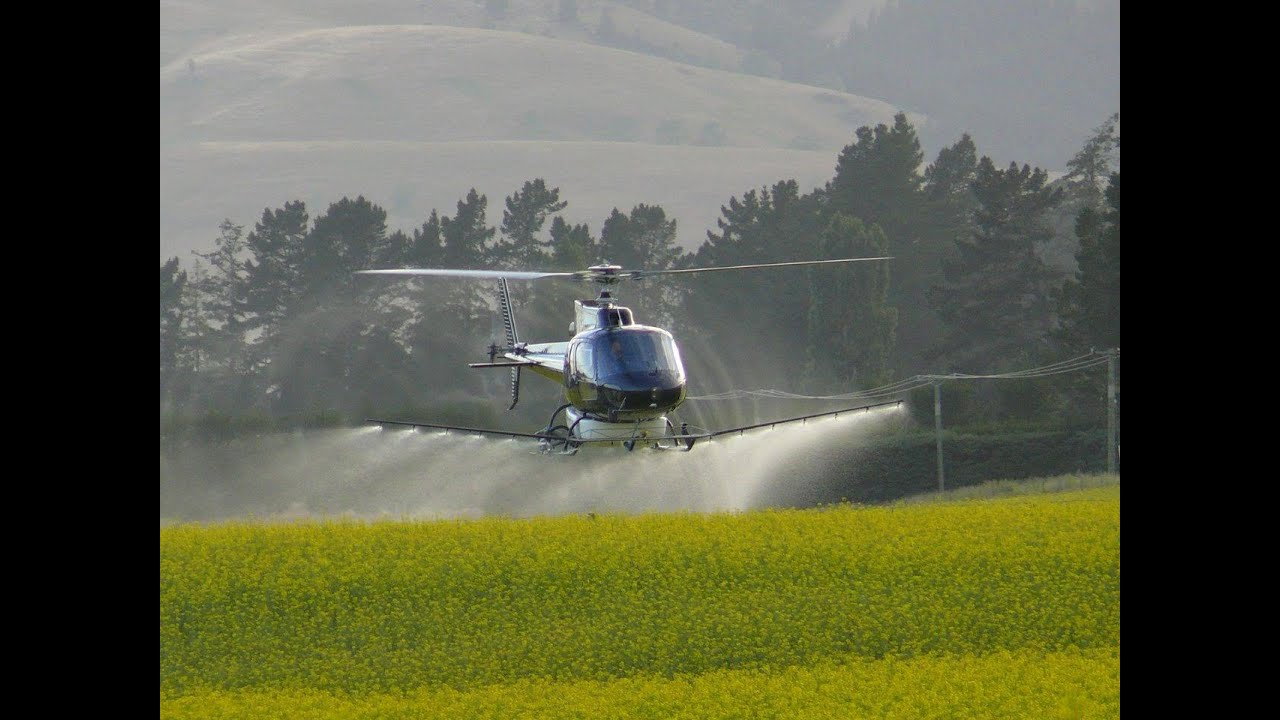 Modern Farming Agricultural Helicopter Youtube