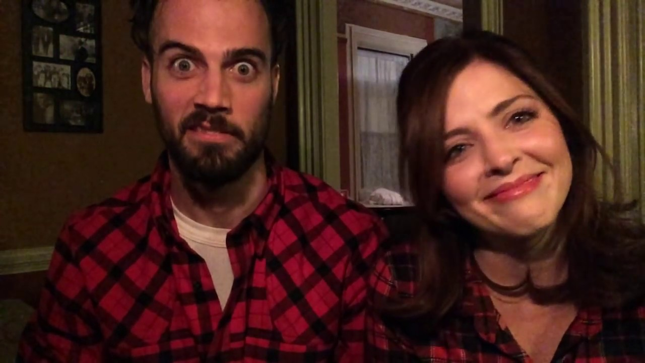 The Spirit Of Christmas Cast.Behind The Scenees The Spirit Of Christmas With Jen Lilley And Thomas Beaudoin