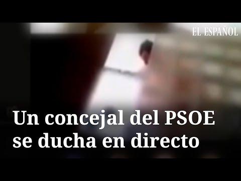 """Un concejal socialista """"retransmite"""" su ducha por internet durante un pleno virtual"""