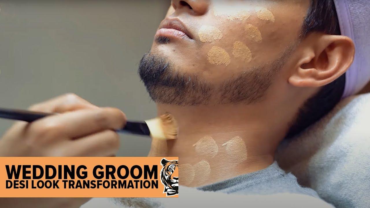 Desi❤️Wedding Groom Makeup