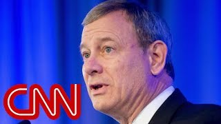 Chief Justice Roberts: We don't have Obama, Trump judges