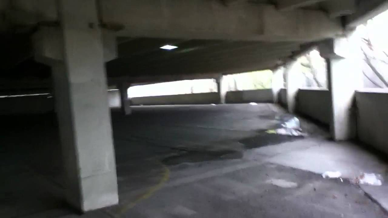Garage Parking Stop >> The Abandoned Public Parking Garage - YouTube