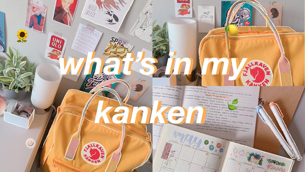 what's in my school bag || fjallraven kanken 🎒