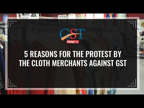Impact Of GST On The Readymade Garments Industry and Cloth Merchants