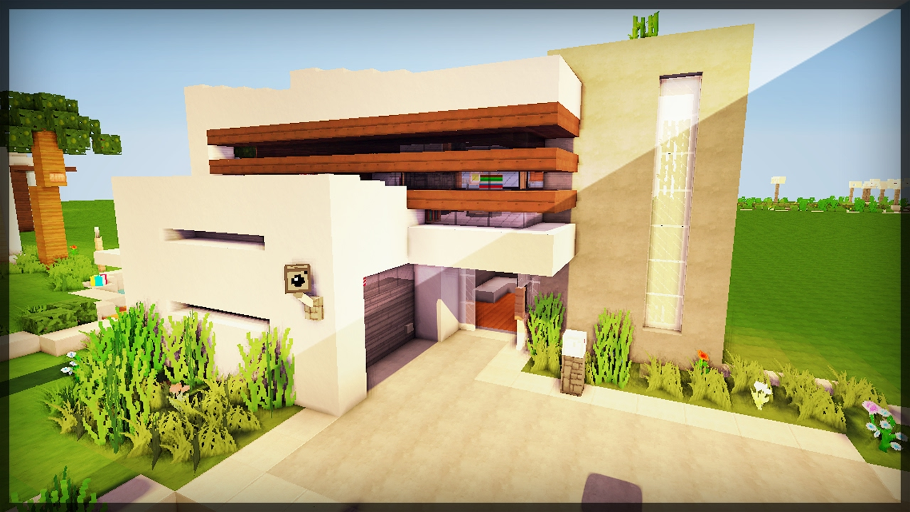 Casa moderna minecraft youtube for Casa moderna 5x5 minecraft