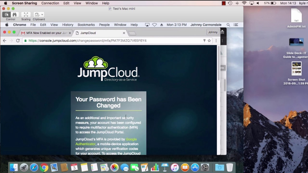 Multi factor authentication for macs jumpcloud tutorial youtube multi factor authentication for macs jumpcloud tutorial baditri Image collections