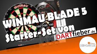 WINMAU BLADE 5 Starter-Set🎯| Darts-Set-Test |  dein-dart.de