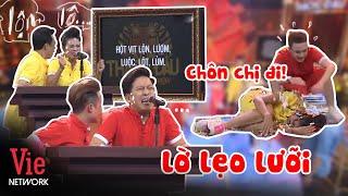 Download lagu Đổ mồ hôi nghe Trường Giang, Nam Thư phát âm chữ LỜ khó khăn, đọc lộn ra...chữ khác  | KTTD Mùa 1