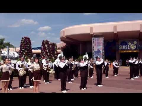 Padua Franciscan High School Band at Epcot Disney World 2013