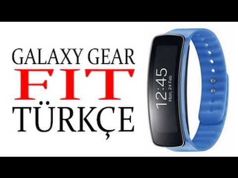 Samsung Galaxy Gear Fit TÜRKÇE İnceleme