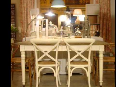 Muebles shabby chic youtube for Muebles shabby