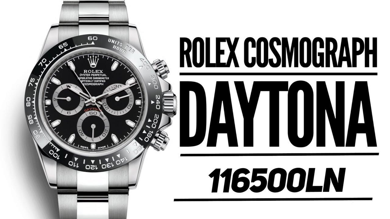 45ab5c52effc9 New Rolex Daytona Cosmograph Black Ceramic Bezel 116500 Baselworld 2016  Watch - BRANDNEWBAZAR