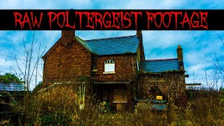 WARNING Scary Poltergeist Footage Caught On Camera Inside Haunted House