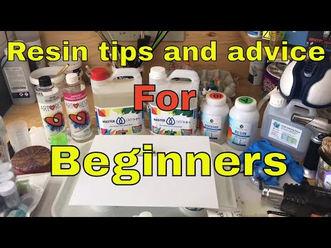 Top Tips and Tricks for Creating Resin Art for Beginners