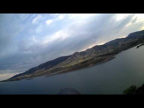 Slope Gliding at Horsetooth Reservoir - 8.15.16