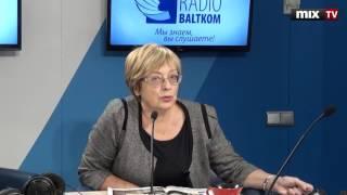 """Журналист Ксения Загоровская в программе """"Переплет"""" #MIXTV"""