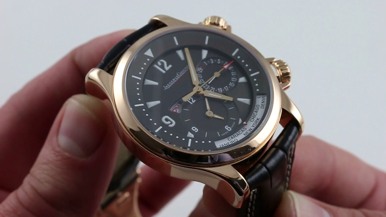 Pre-Owned Jaeger-LeCoultre Master Compressor Geographic Q1712440 Luxury  Watch Review