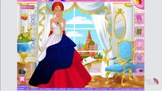 Великий кутюрье, как сделать платье российский флаг.  The Great Couturier, a dress with flag