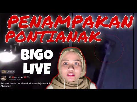VIRAL TWITTER! PENAMPAKAN PONTIANAK DALAM BIGO LIVE!! 😭