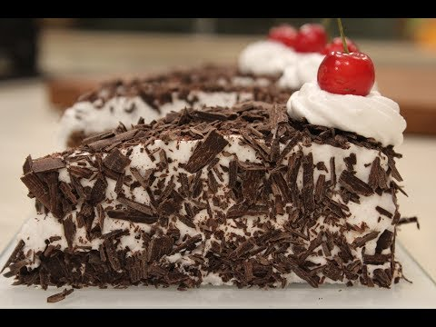 Black Forest Pastry | Cake Recipes | Sanjeev Kapoor Khazana