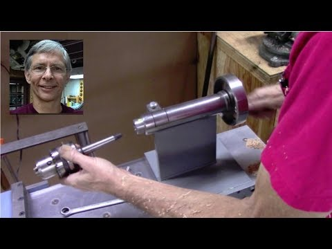 Wood Lathe made like a Metal Lathe Part 2 - Tail Stock Build
