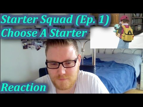 Choose A Starter! - Starter Squad  (Ep. 1) CBL Reaction