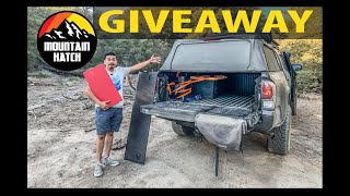 MOUTAIN HATCH TAILGATE INSERT NEW VS OLD VERSION | GIVEAWAY FOR 2 LUCKY WINNERS