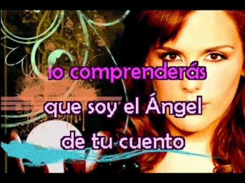 Angelica Vale Aqui Estare Karaoke Youtube