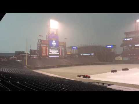 Hail Storm @ Coors Field