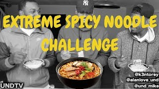 EXTREME SPICY NOODLE CHALLENGE!!! [40K CHALLENGE]