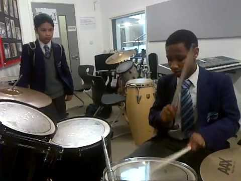 Bridge academy presents : Reece the BEST drummer