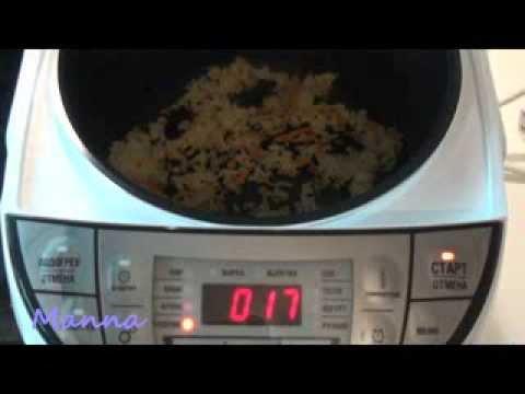 Как подогреть рис в мультиварке