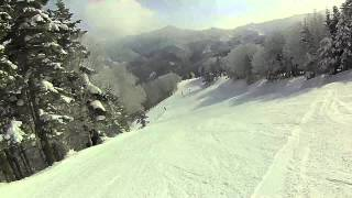 志賀高原 焼額山スキー場 パノラマコース