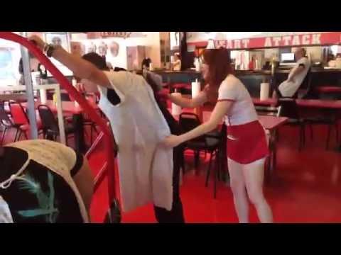 Sparking Nurse Heart Attack Grill  Las Vegas