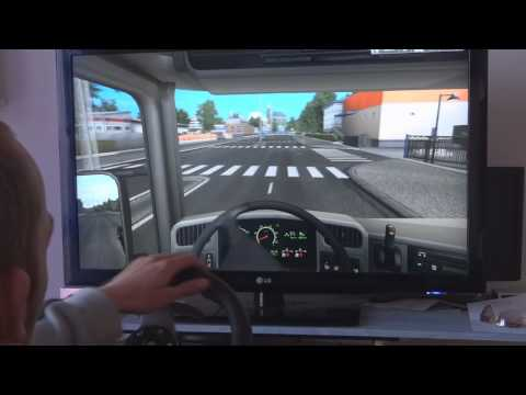 German Truck Simulator + Logitech G27