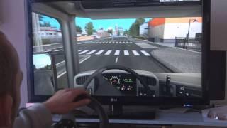 German Truck Simulator + Logitech G27