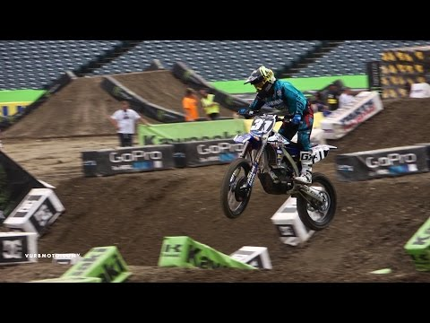 Martin Looking For 2nd Podium | Anaheim 3 Pressday - vurbmoto