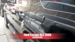 Chocada Ford Escape 2005 AutoComercia
