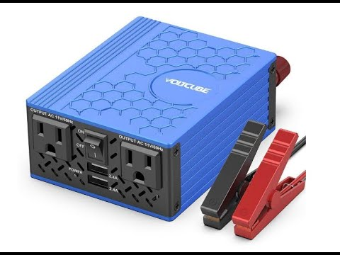 voltcube-400w-power-inverter-12v-dc-to-110v-ac-converter-with-4.8a-dual-usb-car-adapter---overview