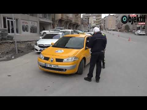 Hakkari Emniyeti 'Korsan Taksi' İle M�le Başlattı