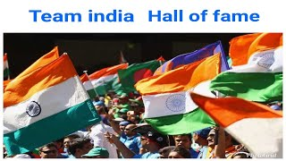 Indian cricket team Hall of Fame | Amazing box