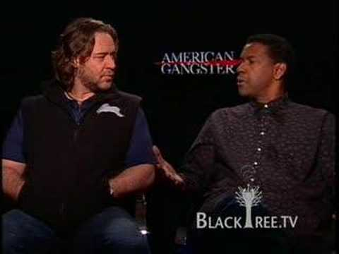 Denzel Washington, Russell Crowe Interview American Gangster